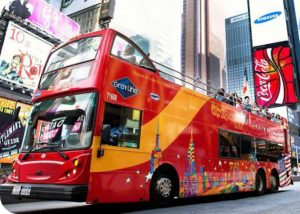 Hop-on-Hop-off-Bustour durch New York