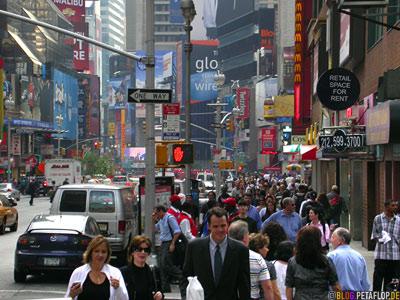 New York Bürgersteige