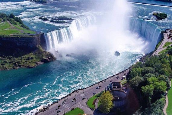 Niagarafälle von New York