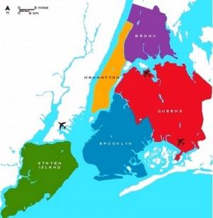 distretti di new york