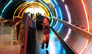 Il tunnel - museo per bambini di Brookln