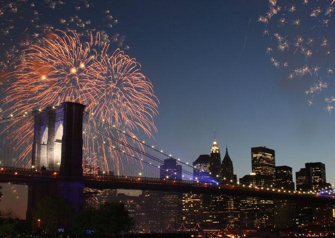 festa del 4 luglio a New York