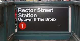 accesso stazione linea 1 con direzione singola uptown