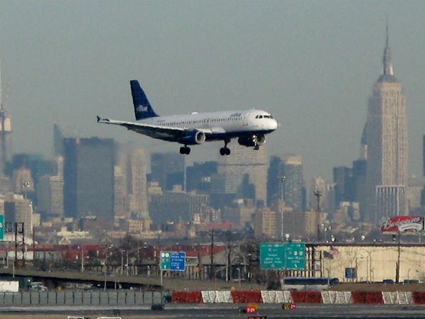 gli aeroporti di new york