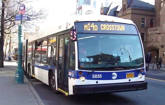 muoversi con gli autobus a new york