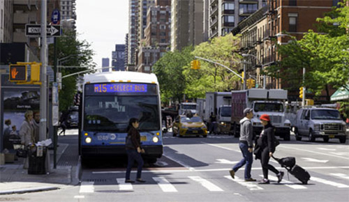 autobus select bus service a New York