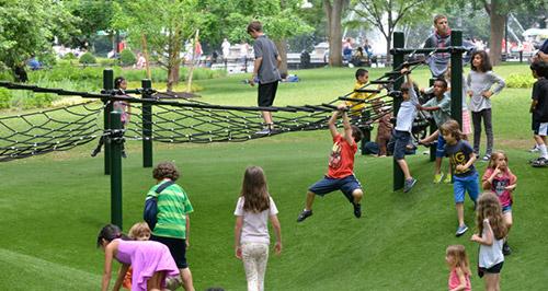 area per bambini al washington square park