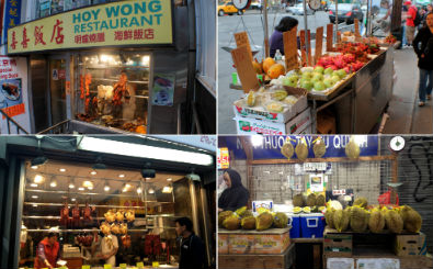 Le bancarelle di Chinatown