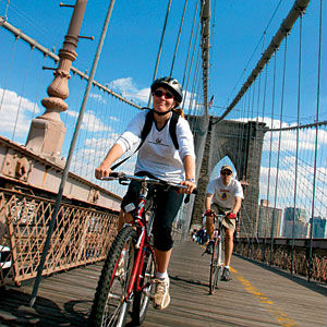 In bici a New York