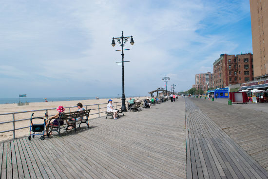 brighton beach vicino a Coney Island