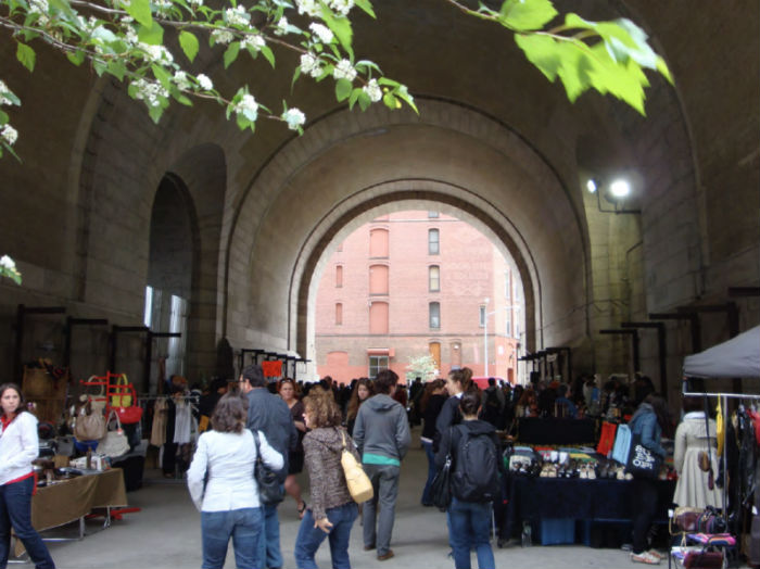 Brooklyn Flea a Dumbo