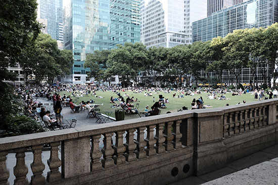 Bryant Park a New York, Midtown Manhattan