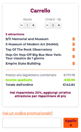 Codice Sconto Build Your Own Pass