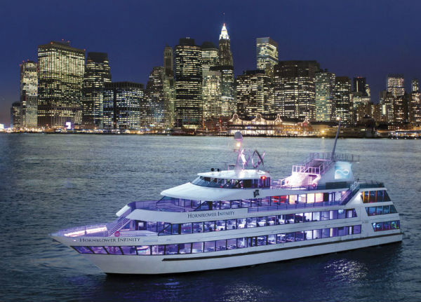 cena su yatch a new york