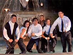central park ospita la fontana originale della serie tv Friends