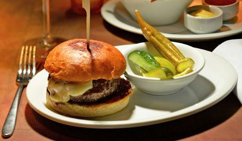 cheeseburger Bowery Meat Company, New York