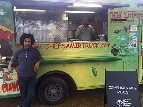 chef samir truck a new york