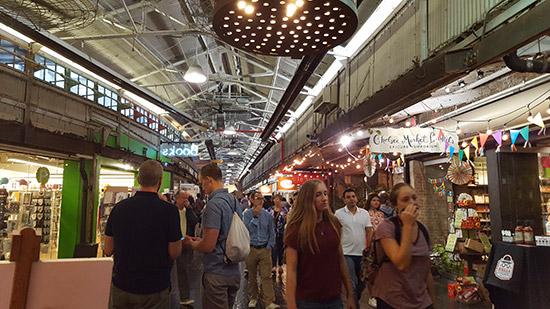 visita al Chelsea Market di New York