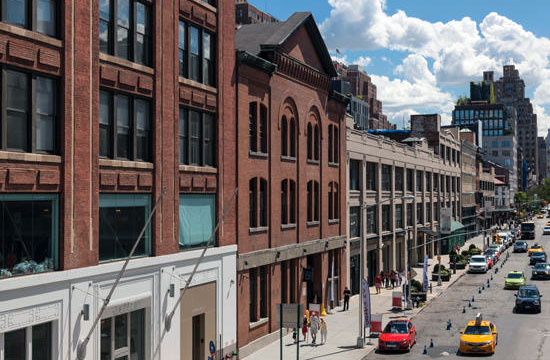 zona del Maetpacking District, a Chelsea New York