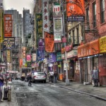 Il Quartiere Chinatown di New York