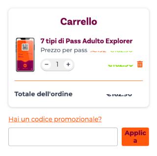 Codice Sconto Explorer Pass