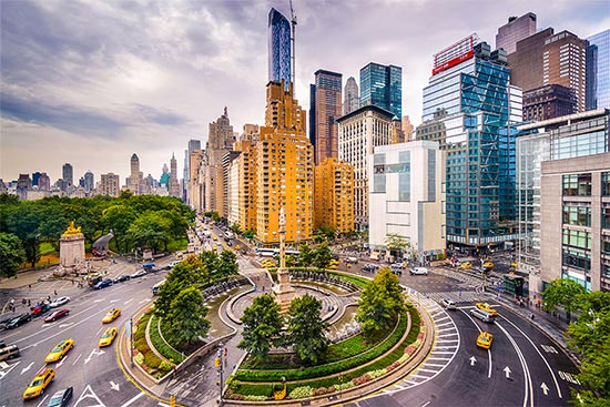 columbus circle a new york