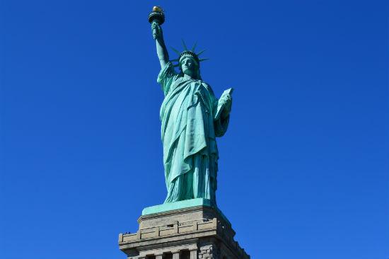 come fotografare la statua della liberta a new york