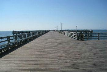 Boardwalk Coney Island, il pontile in legno
