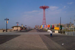 Coney Island, Broadway, New York