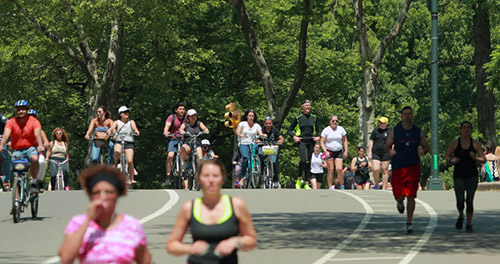 correre a central park