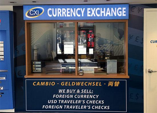 ufficio di cambio a New York