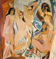 Demoiselles d'avignon, Picasso