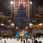 l'albero al rockefeller center