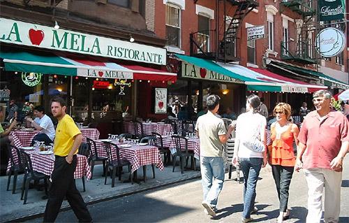 scegliere dove mangiare a new york
