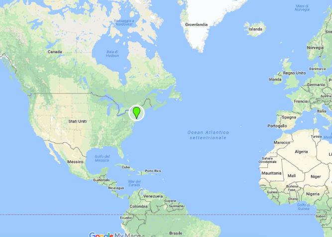 Stati Uniti Cartina Fisica E Politica.Dove Si Trova New York Posizione Geografica E Informazioni