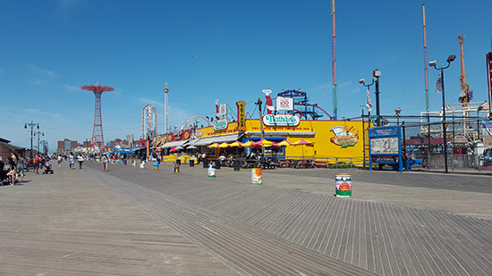 escursione a Coney Island da New York