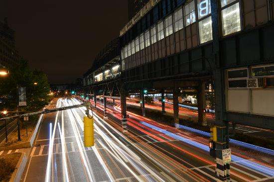 foto dai viadotti di New York