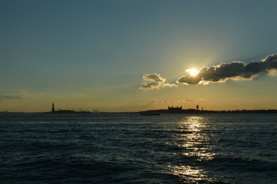 fotografare tramonti a manhattan