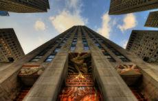 GE Building - ingresso