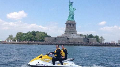 tour in moto d'acqua in coppia