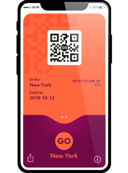 Build Your Own Pass New York, QR Code