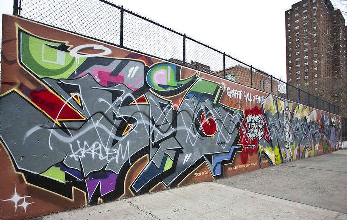 Graffiti ad Harlem New York