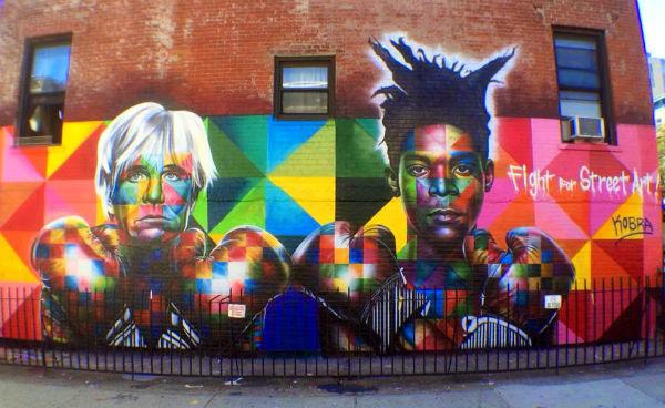 Graffiti a Williamsburg