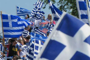 parata indipendenza greca a manhattan