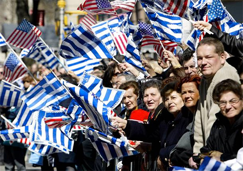 greek parade a New York
