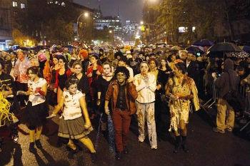 Halloween Parade Village New York