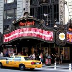 Mangiare all'Hard Rock Cafè di New York