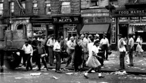 foto storica del quartiere di Harlem