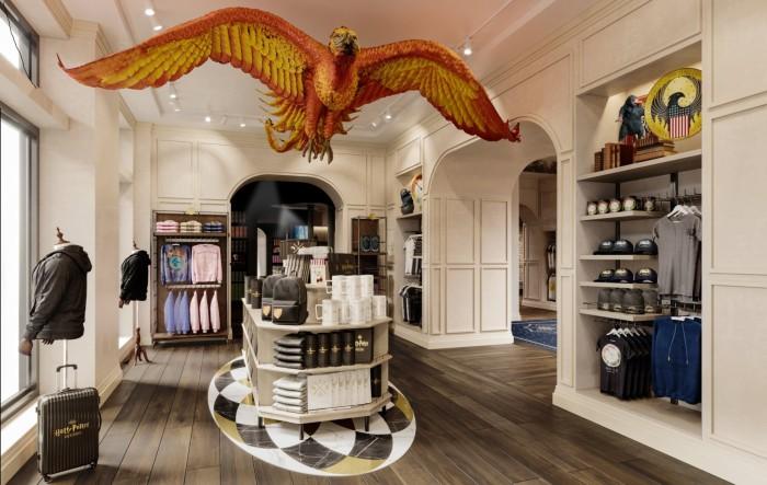 Interno dell'Harry Potter Store di Broadway, New York