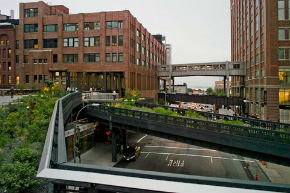 Highline nei pressi del Meatpacking District